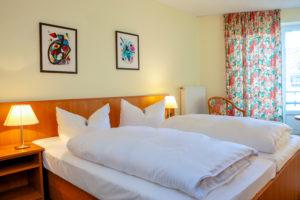 Komfort Doppelzimmer mit Himmel, © c. huhnke