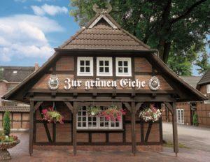 """Front AKZENT Hotel """"Zur Grünen Eiche"""" Behringen"""