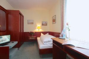 """Einzelzimmer Standard im AKZENT Hotel """"Zur Grünen Eiche"""" Behringen"""