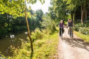 Radfahren in der Heideregion