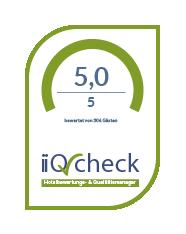 iiQ-Check Kundenbewertung 5,0