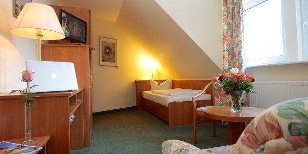 Einzelzimmer im AKZENT Hotel